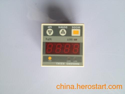 供应长野计器压力传感器GC62数字差压表