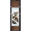 供应布艺工艺品 新品各系列精美 纯手工 丝绸卷轴画