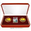 供应西安金银礼品 西安纯金纯银币 西安金银纪念章