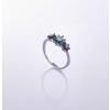 供应清新小花戒指-GIO-925银