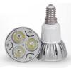 供应东莞晶元芯片射灯 3W led灯具 led照明 厂家直销 E14灯头
