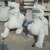 石雕貔貅供应商,大理石石雕貔貅定做