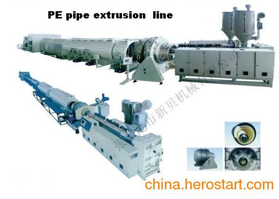 供应PE管材挤出生产线