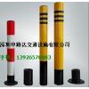 供应防护桩规格:圆/2.5*600/3.0*750mm喷涂贴反光膜