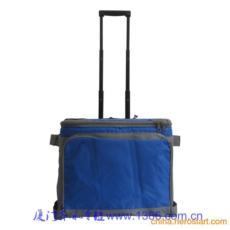 供应QB1640拉杆式冷藏包,兽用冷藏包,食品保温包,医疗运输包,医疗周转包