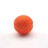 供应橡胶发声骨纹球-6CM