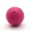 供应橡胶发声骨纹球-7.6CM