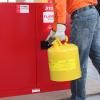供应西斯贝尔 废液收集罐SCAN002Y I型金属罐 柴油类液体收集罐