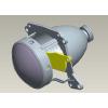 供应汽车LED前雾灯 近光灯配光设计