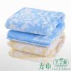 供应竹之锦竹纤维方巾F-037
