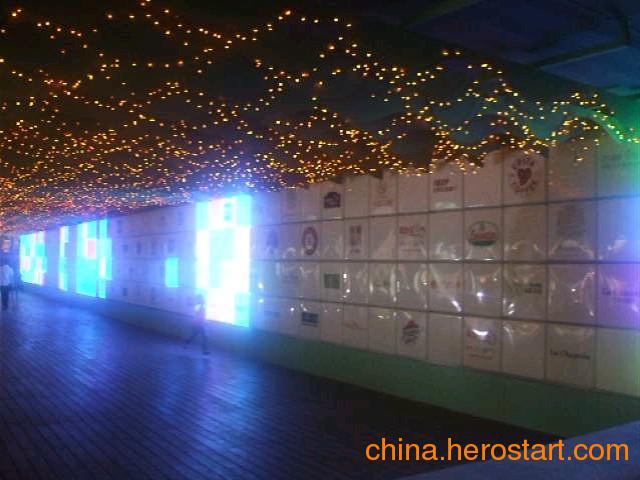 供应展厅互动灯光设计,LED互动灯光设计,互动多媒体设计