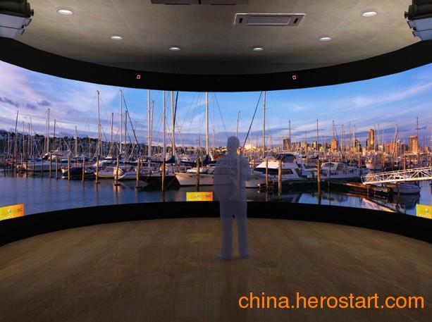 供应弧幕,环幕,球幕,建筑投影,潘多拉展示系统,大屏幕展示系统