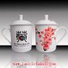 供应旅游纪念品陶瓷茶杯定制,景德镇骨瓷茶杯