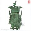 供应钟鼎青铜器|仿古工艺品|铜|会议礼品|品种最全|国礼|莲鹤方壶21cm