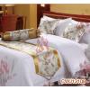 供应酒店床上用品生产厂家 宾馆床上用品生产厂家 床尾巾生产厂家