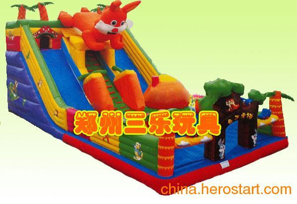 供应大猩猩儿童充气攀岩,滑梯乐园,大型充气城堡