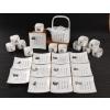 供应十二生肖方提梁骨质瓷茶具