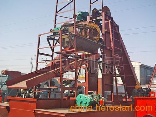 供应大型淘金船