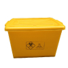 供应医疗周转箱 医疗废物周转箱 医疗污物箱 100L厚