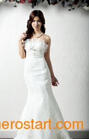 供应深圳高级婚纱定做——诺百丽婚纱