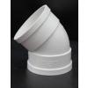 供应上市公司出产维牌PVC排水管配件45度弯头排水下水道管必配110