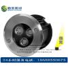 供应3W大功率LED水下埋地灯,LED3W水下嵌壁式埋地灯-LED3W广场喷泉地埋灯厂家