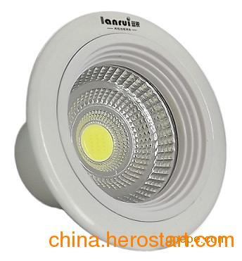 供应超市嵌入式LED筒灯 可回收