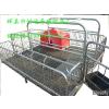 供应母猪分娩床、母猪产床图片 好运养猪设备价格
