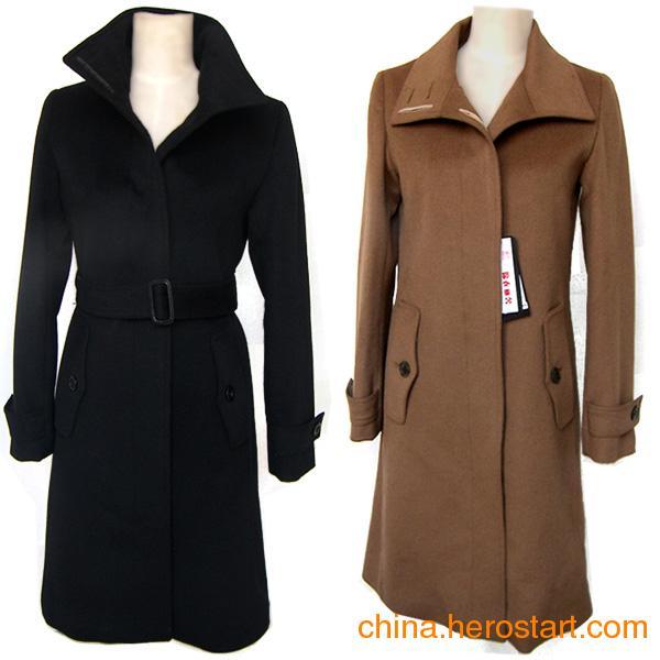 供应新款女式羊绒风衣