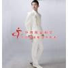 供应南京白色绣龙中山装_五四青年学生装_毕业照表演服