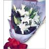 供应西安情人节鲜花订购速递西安11朵红玫瑰花鲜花束西安送花