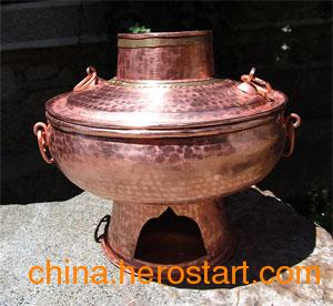 供应纯手工铜火锅