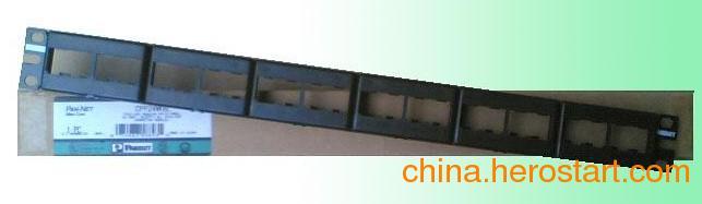 供应泛达24口模块化配线架 PANDUIT超五类24口配线架金华代理