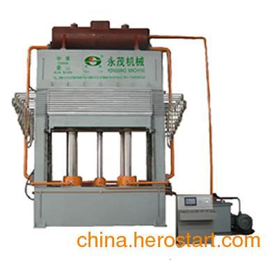 供应十层板三聚氰胺贴面热压机