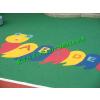 供应EPDM幼儿园彩色塑胶地面