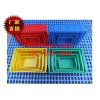 供应塑胶周转箱 周转萝 零件盒 方盘 托盘 胶框子图片生产厂家