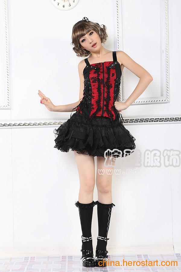供应湖南蕾丝超短可爱迷你短裙批发衡阳时尚短裙