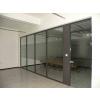 供应临沂玻璃隔断厂家/双层玻璃隔断/百叶玻璃隔断/办公隔断厂家