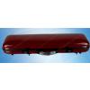 供应红色胶衣半碳小提琴琴盒(小方盒)