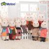 供应Metoo咪兔正品新款升级版提拉米兔公仔娃娃可爱毛绒玩具