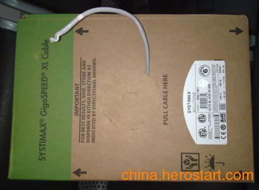 供应美国康普六类非屏蔽网线1071004SCL 6类标准电缆