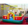 供应充气城堡充气玩具室外攀岩儿童100平方充气攀岩pvc特价