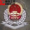 供应金属纪念徽章定做-真皮工作证,金属胸章,金属纪念徽章,大型铝合金悬挂徽,