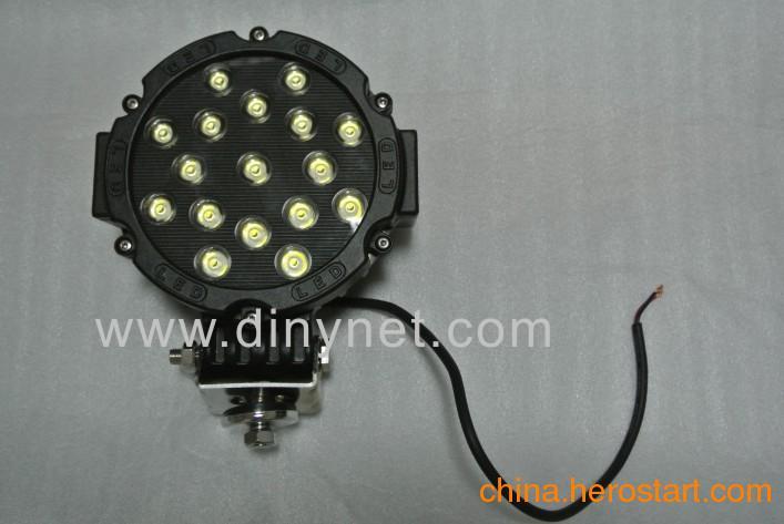 供应厂家直销 常亮车顶灯 双排长条越野车灯 LED汽车作业灯 180W