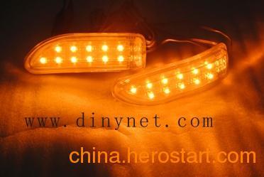 供应汽车LED后视镜灯 转向灯 转弯灯 加装转向灯 软板LED转向灯
