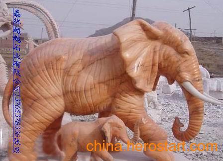 供应石雕大象怎么摆放  石头雕刻大象造型 石象图片及价格