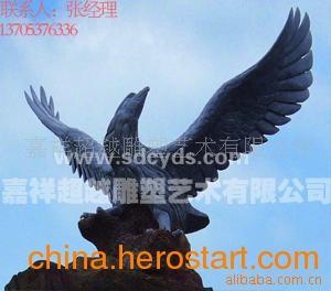 供应石雕老鹰造型 石头老鹰图片及价格