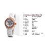 供应IK阿帕琦镶钻女士石英表 进口优质陶瓷时尚女表 防水时装手表