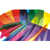 供应特价处理进口玻璃纸 透明玻璃纸 彩色玻璃纸