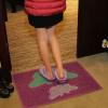 供应双色印花丝圈地垫门垫大门口防滑地毯进门垫子玄关入户门厅脚垫